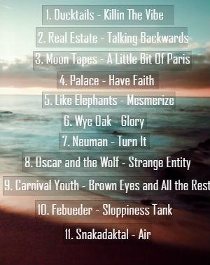 Tracklist September