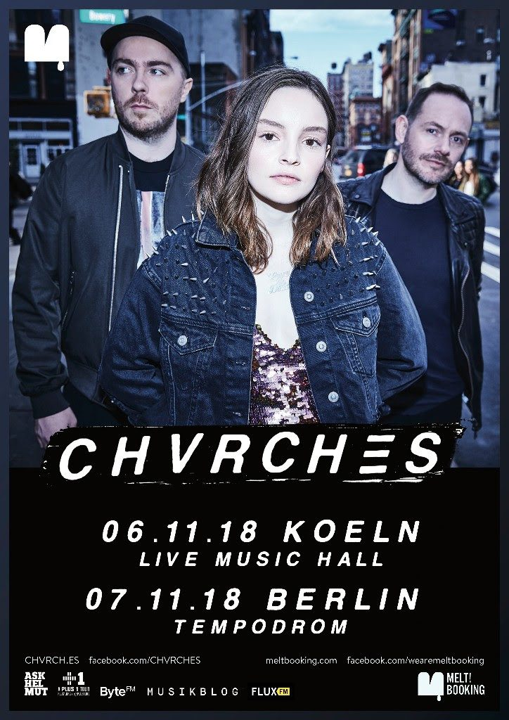 CHVRCHES - Love Is Dead - Tourposter