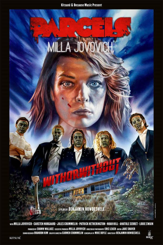 Parcels und Milla Jovovich