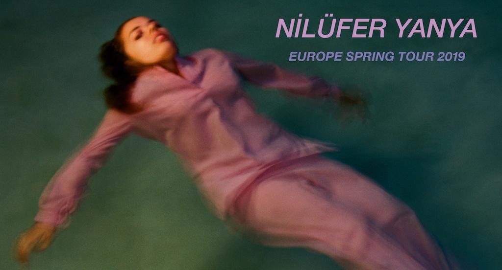 Nilüfer Yanya Europe Spring Tour 2019