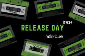 Release Day // Neuerscheinungen in Woche 34